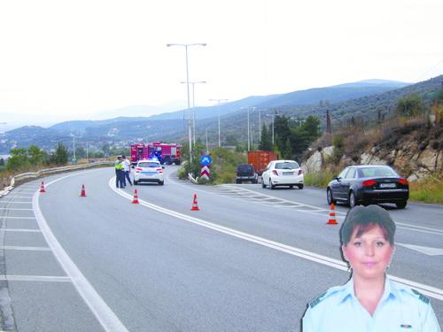 Σκοτώθηκε 46χρονη υποσμηναγός ~ ΝΕΑ ΤΡΑΓΩΔΙΑ ΣΤΗΝ ΑΣΦΑΛΤΟ