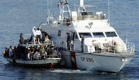 Διάσωση 11 μεταναστών ανοιχτά του Αγαθονησίου