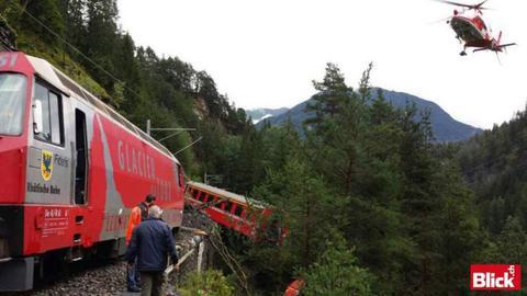 Εκτροχιάστηκε τρένο στην Ελβετία