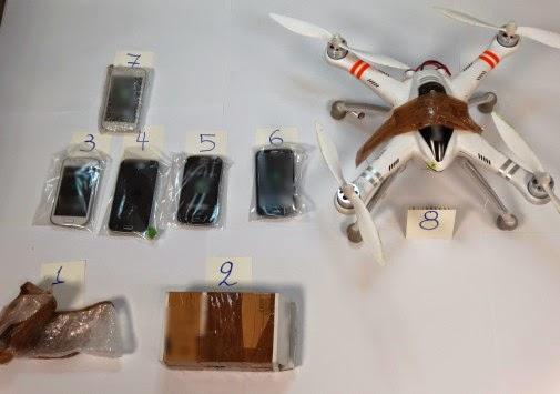 Με τηλεκατευθυνόμενο αεροπλανάκι προσπάθησαν να περάσουν κινητά τηλέφωνα στις Φυλακές της Λάρισας