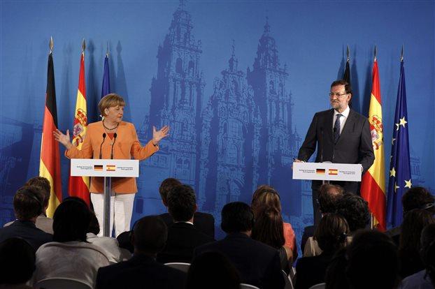 Μέρκελ: Στηρίζουμε τον Λουίς ντε Γκίντος για το Eurogroup