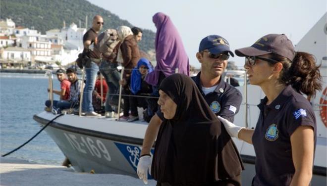 Διασώθηκαν 129 μετανάστες σε Χίο - Αγαθονήσι