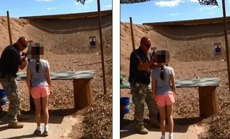 Εννιάχρονη πυροβόλησε στο κεφάλι και σκότωσε τον εκπαιδευτή της στην σκοποβολή με ένα ούζι
