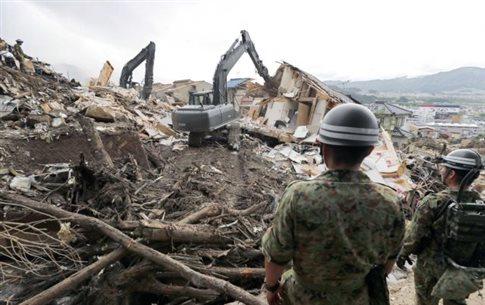 Τους 72 έφτασαν οι νεκροί από τις κατολισθήσεις στη Χιροσίμα