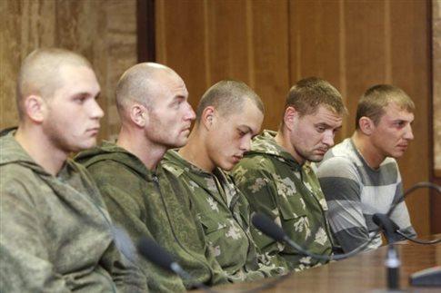 Ρώσοι πολεμούν μαζί μας, λένε οι ένοπλοι στην ανατολική Ουκρανία