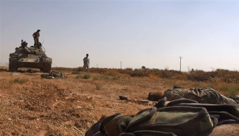 Συρία: Ομαδικές εκτελέσεις σύρων στρατιωτών από τζιχαντιστές