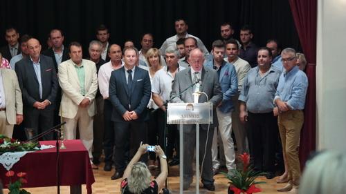 Νέα εποχή στο Δήμο Ρ. Φεραίου ορκίστηκε χθες δήμαρχος ο Δημ. Νασίκας