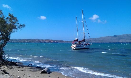 Μηχανική βλάβη τουριστικού πλοίου