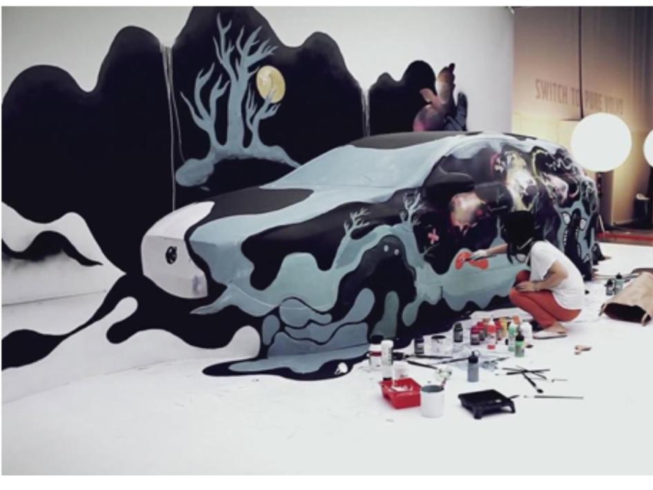 Έκθεση Shadow Chen στη Μακρινίτσα
