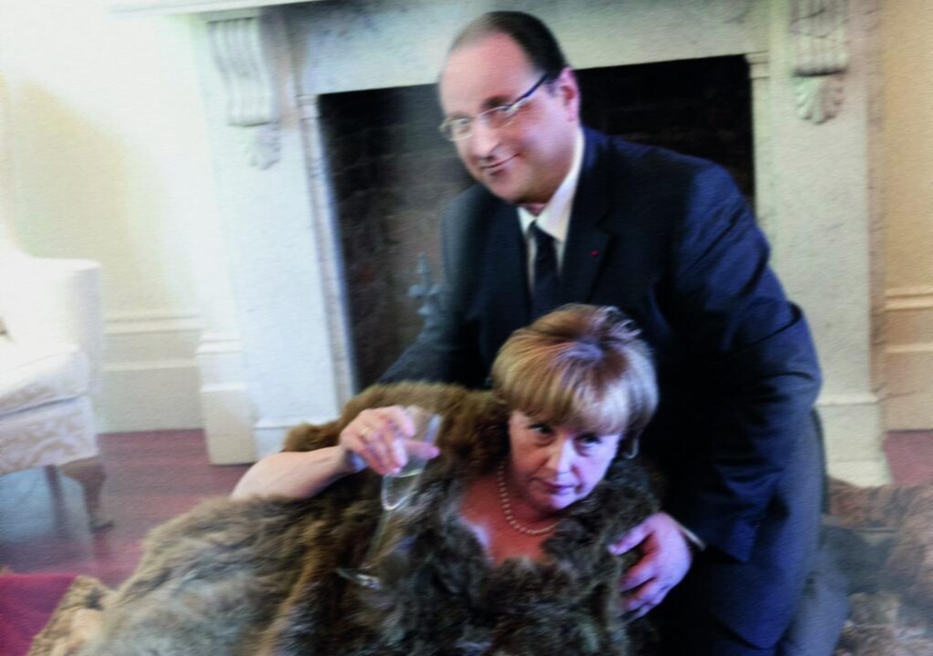 Oταν η Μέρκελ ερωτεύτηκε τον Ολάντ -Tηλεοπτική σειρά για τη «σχέση» των δύο ηγετών