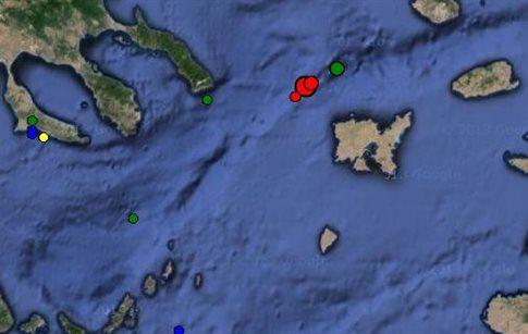 Σεισμός 4,9 βαθμών αισθητός και στη Μαγνησία