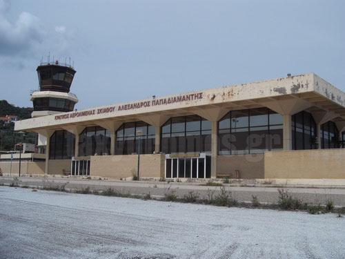 Διεθνής αεροπορική πύλη η Σκιάθος