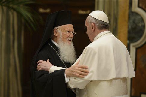 Τον Νοέμβριο θα επισκεφθεί το Φανάρι ο Πάπας Φραγκίσκος