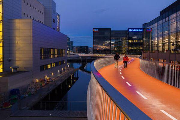 Κοπεγχάγη: φιδωτός ποδηλατόδρομος βήμα για αστικές μετακινήσεις 50% με ποδήλατο