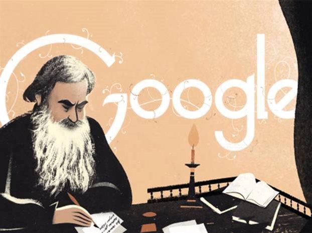 Τον ρώσο συγγραφέα Λέο Τολστόι τιμά η Google