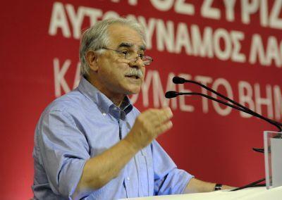 Μπαλάφας: Ο ΣΥΡΙΖΑ μπορεί να συγκυβερνήσει με τον Καμμένο