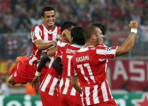 Ολυμπιακός - Ατλέτικο Μ. (3-2)