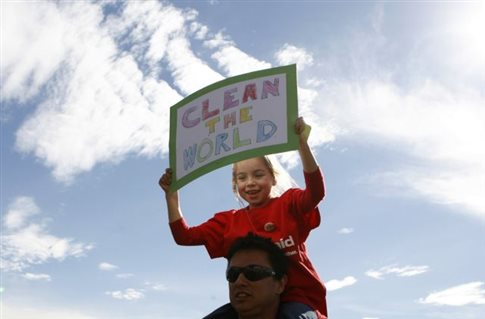 Η Νέα Υόρκη στη «μεγαλύτερη πορεία» κατά της κλιματικής αλλαγής