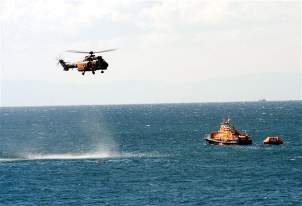 Κάλυμνος: Καταδίωξη σκάφους με παράνομους μετανάστες από το λιμενικό