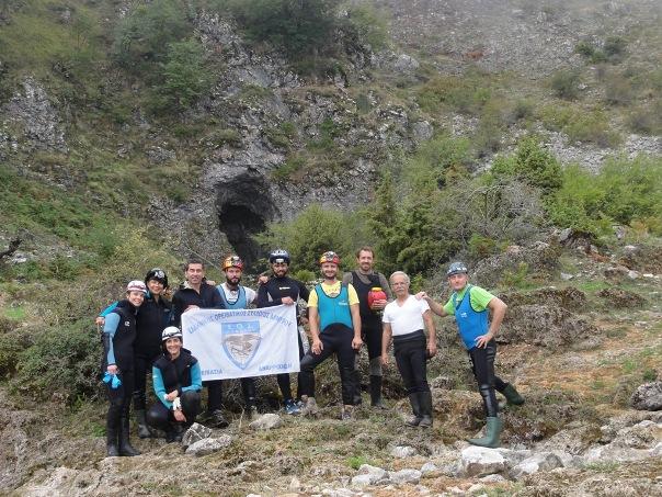 Όθρυς- Είσοδος στο σπήλαιο της Νεροσπηλιάς