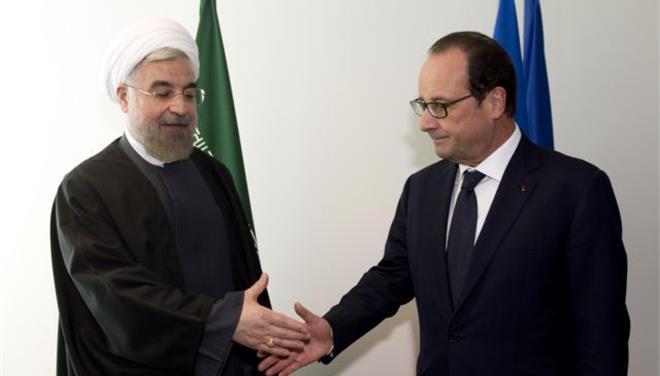 Ολάντ και Ροχανί συζήτησαν για τρομοκρατία και πυρηνικό πρόγραμμα