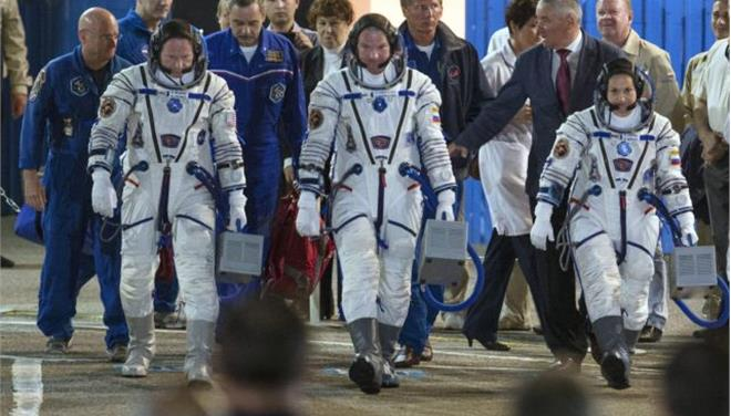 Εκτοξεύτηκε ο Σογιούζ με την πρώτη ρωσίδα κοσμοναύτη του Διαστημικού Σταθμού
