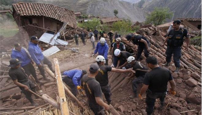 Οκτώ νεκροί από σεισμό στο Περού