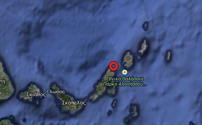 Σεισμική δόνηση 4 Ρίχτερ στην Αλόννησο