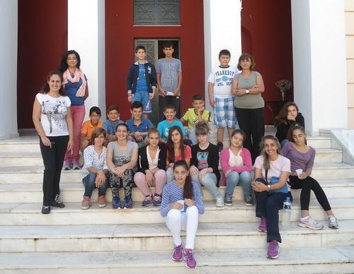 «Αρχαιολόγοι» για μια μέρα οι μαθητές του Γυμνασίου Ευξεινούπολης