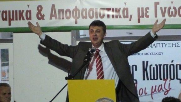 Ο Γιώργος Κωτσός νικητής των εκλογών στην ΠΕΔ Θεσσαλίας
