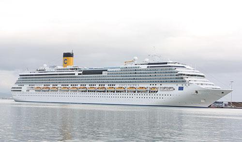 Κρουαζιερόπλοιο με 2.998 τουρίστες