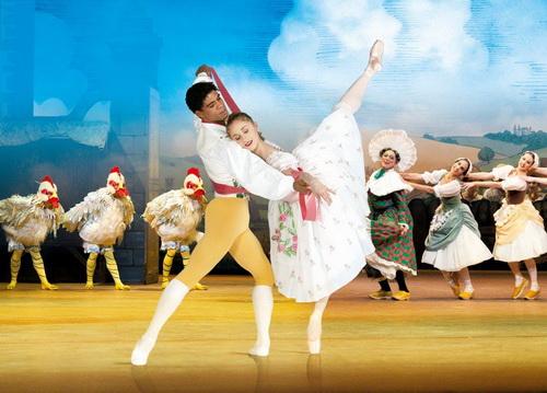 Παραστάσεις μπαλέτου