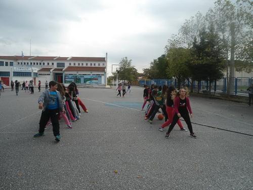 Μήνυμα ισότητας μέσα από τον Αθλητισμό εστειλαν οι μαθητές του Γυμνασίου Ευξεινούπολης