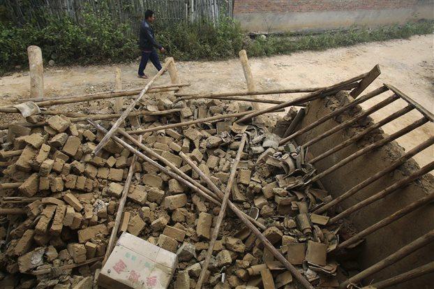 Κίνα: Ενας νεκρός μετά από σεισμό 6,4 βαθμών στην επαρχία Γιουνάν