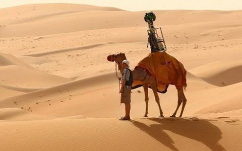 Η Google χαρτογράφησε ακόμη και την έρημο -Με... καμήλες αντί για αυτοκινητάκια [βίντεο]