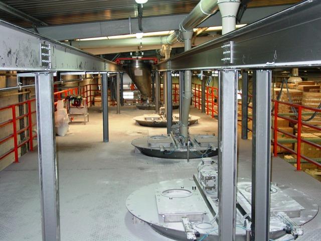 Συνάντηση με διευθυντικά στελέχη του εργοστασίου της Εύρηκα
