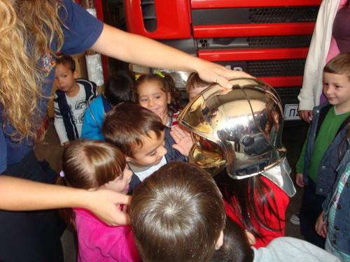 Επίσκεψη στην Πυροσβεστική από τα προνήπια του Παιδικού Σταθμού Αίολος