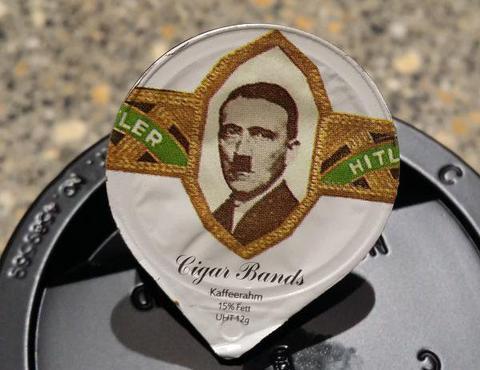 Ελβετία: Εδιναν γαλατάκια για τον καφέ με το κεφάλι του Χίτλερ