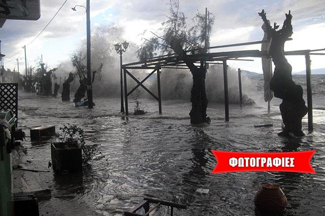 «Τσουνάμι» χτύπησε την Αφησσο
