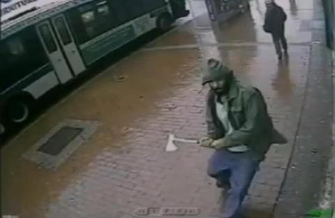 Επίθεση με τσεκούρι εναντίον αστυνομικών στη Νέα Υόρκη