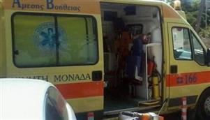 Σε σοβαρή κατάσταση βρέφος στα Τρίκαλα μετα απο τραυματισμό του σε τροχαίο