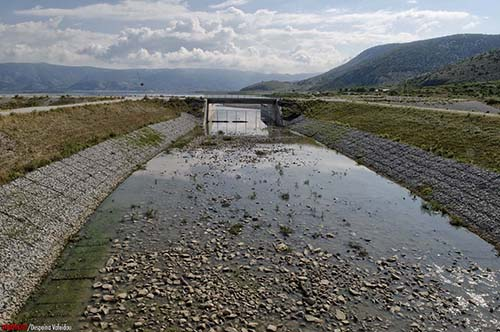 Σωτήριες οι βροχοπτώσεις Για τη λίμνη Κάρλα