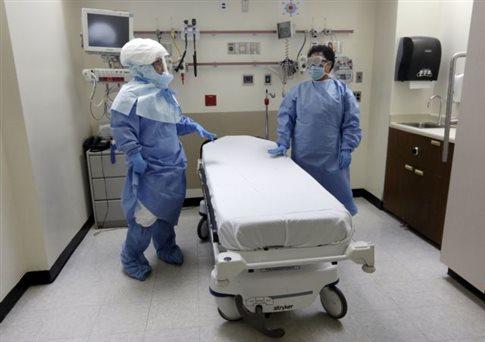 Πεντάχρονος με ύποπτα συμπτώματα Έμπολα σε απομόνωση στη Νέα Υόρκη