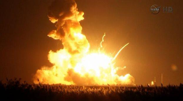 Εξερράγη πύραυλος της NASA με μη επανδρωμένο διαστημικό σκάφος