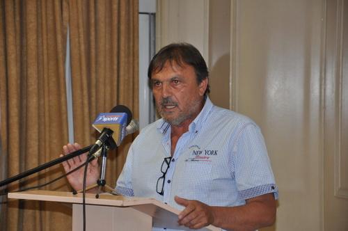 Ο Ν. Τσεκούρας εκ νέου πρόεδρος του Α.Σ. Ολυμπιακός Βόλου