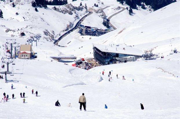 Ειδικό σήμα λειτουργίας στα Χιονοδρομικά Παρνασσού και Καϊμακτσαλάν