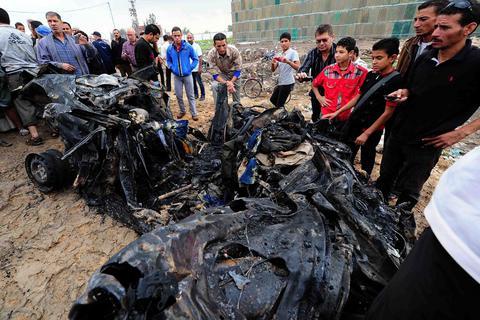 Μπαράζ εκρήξεων με τέσσερις νεκρούς στην Αίγυπτο