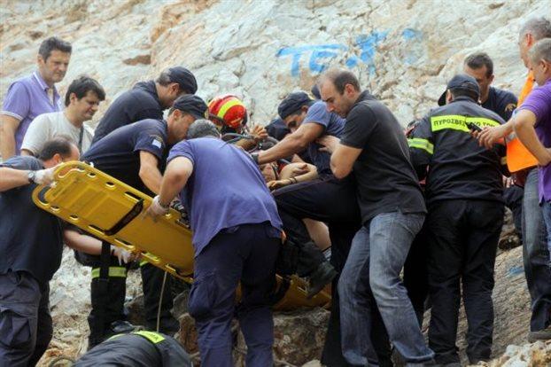 Τραυματισμένος εντοπίστηκε ο ορειβάτης στον Όλυμπο
