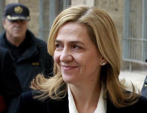 Ισπανία: «Στα μαλακά» η πριγκίπισσα Κριστίνα-Κατηγορείται μόνο για φορολογική απάτη