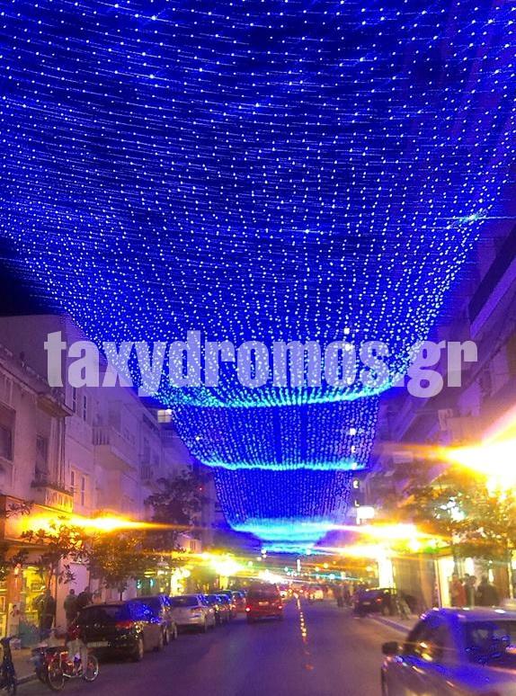 Ετσι θα είναι η πόλη τα Χριστούγεννα ~ Γεύση από γιορτές στο Βόλο
